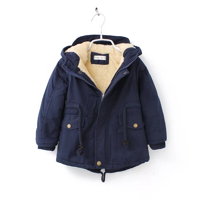 New winter children down & parkas 2-9Y European style boys girls warm outerwear color green blue hooded coats for girls 10