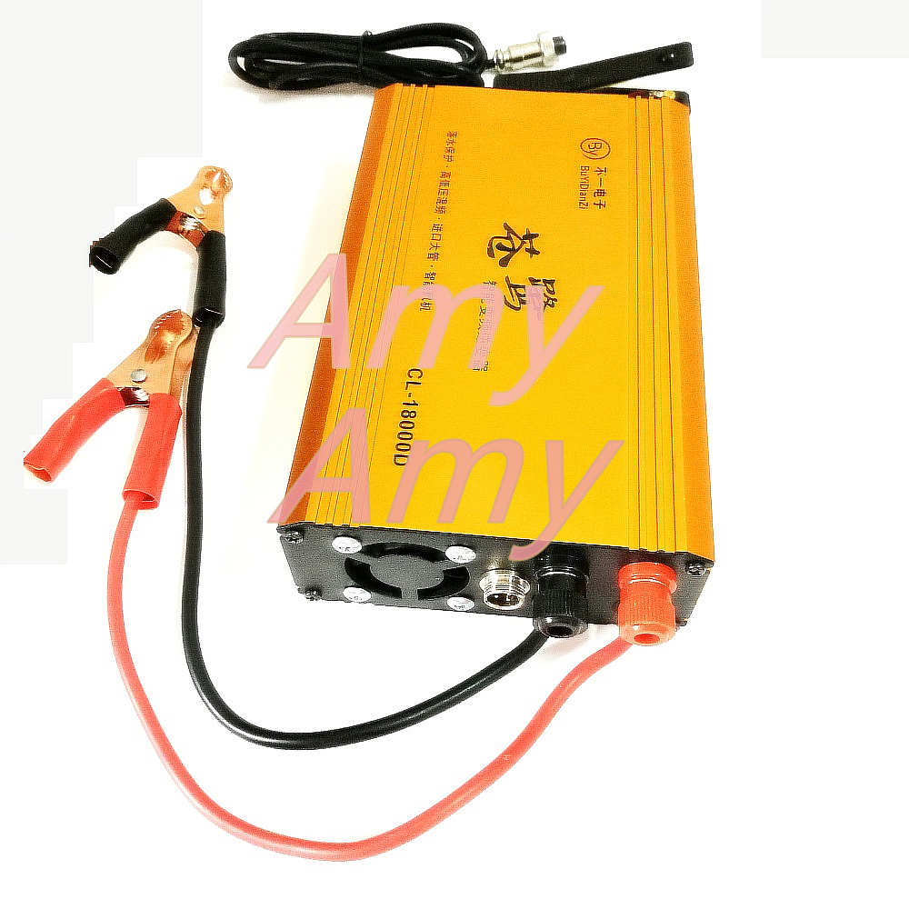 High power inverter head water pressure booster 12V kit 8 tube double silicon CL18000WD finished machine