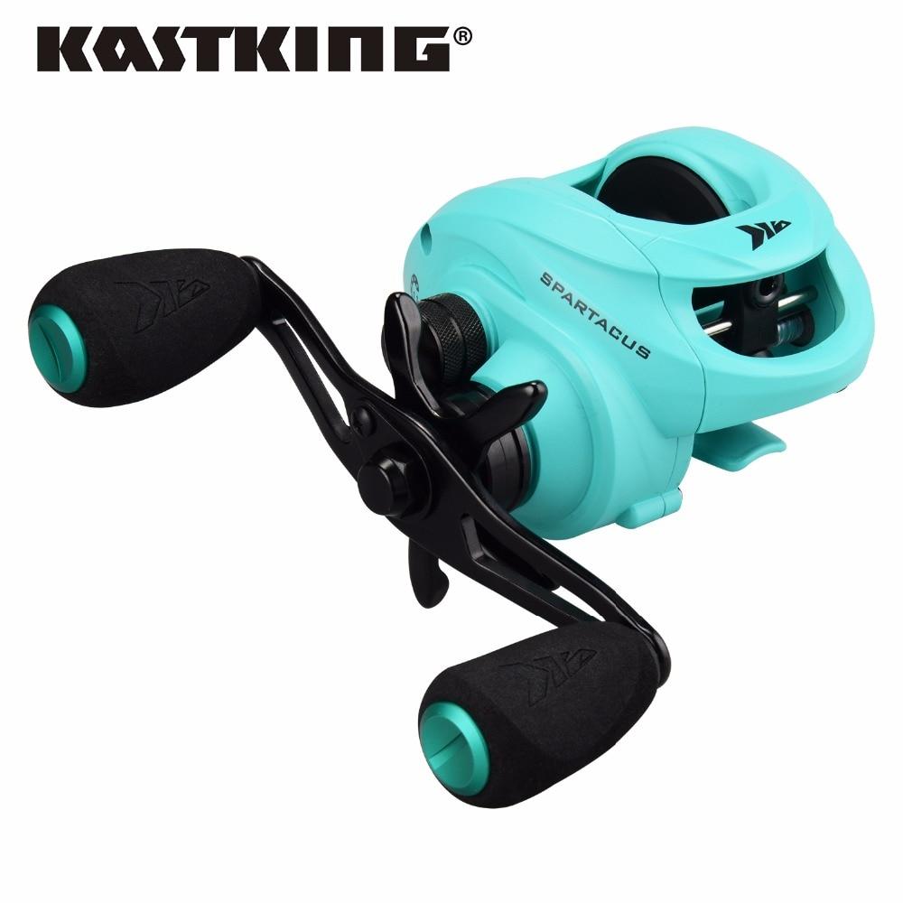 KastKing Spartacus 2018 4 Different Colors 8KG Max Drag Anti Corrosive Freshwater Baitcasting Fishing Reel Lure