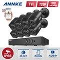 ANNKE 8 x 1500TVL 720P Outdoor Cameras 1080N TVI 4in1 8CH DVR Security System CCTV Surveillance kit