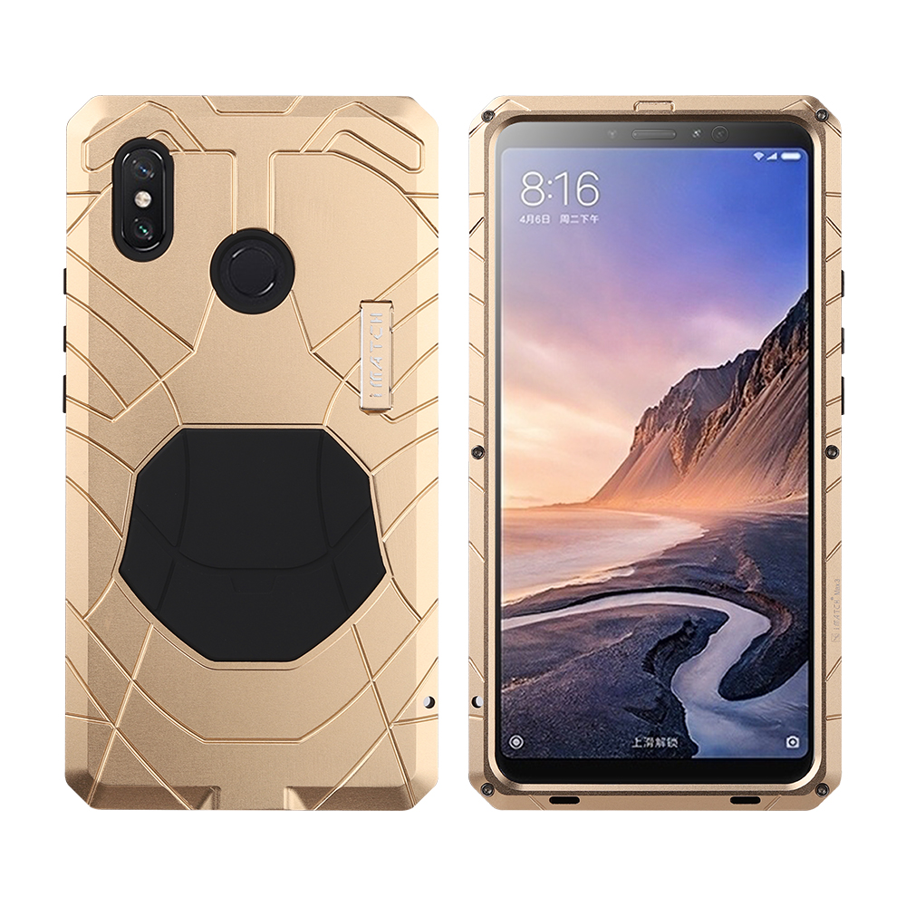 For Xiaomi MI Max3 Max2 Phone Case Heavy Duty Protection Armor Metal MI Max 3 2