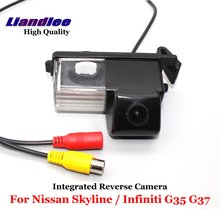 Liandlee For Nissan Skyline / Infiniti G35 G37 Car Rear View Backup Parking Camera Rear Reverse Camera / SONY CCD HD Integrated ccd track camera car directive parking assistance reversing trajectory back rear view camera for sony ccd nissan venucia r50 hd