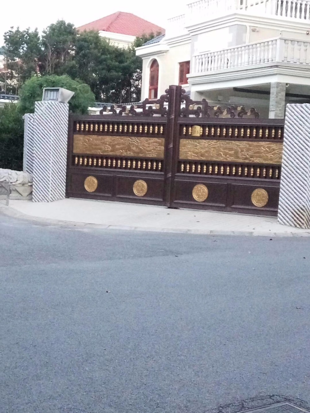 High Quality Aluminium Garden Gate Designs Hc-a18