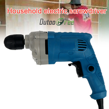 Dutoofree High Power Electric Screwdriver Hand Drill Industrial Electric Impact Drill Screw Driver Bits Rotary Power Tools