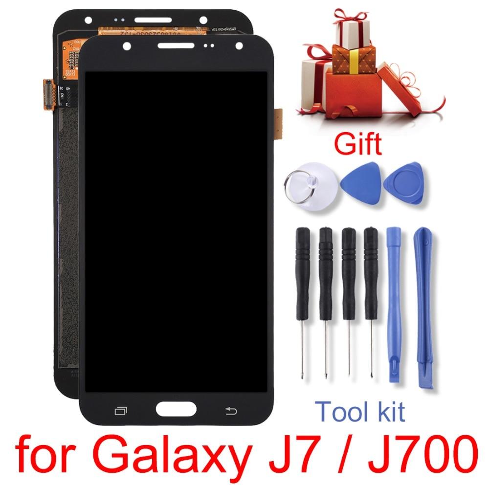 Nouveau pour Galaxy A9/Galaxy J7/S7/G9300/G930F/G930A/G930V/Galaxy A8 /A8000 Écran LCD et Numériseur Assemblée Complète