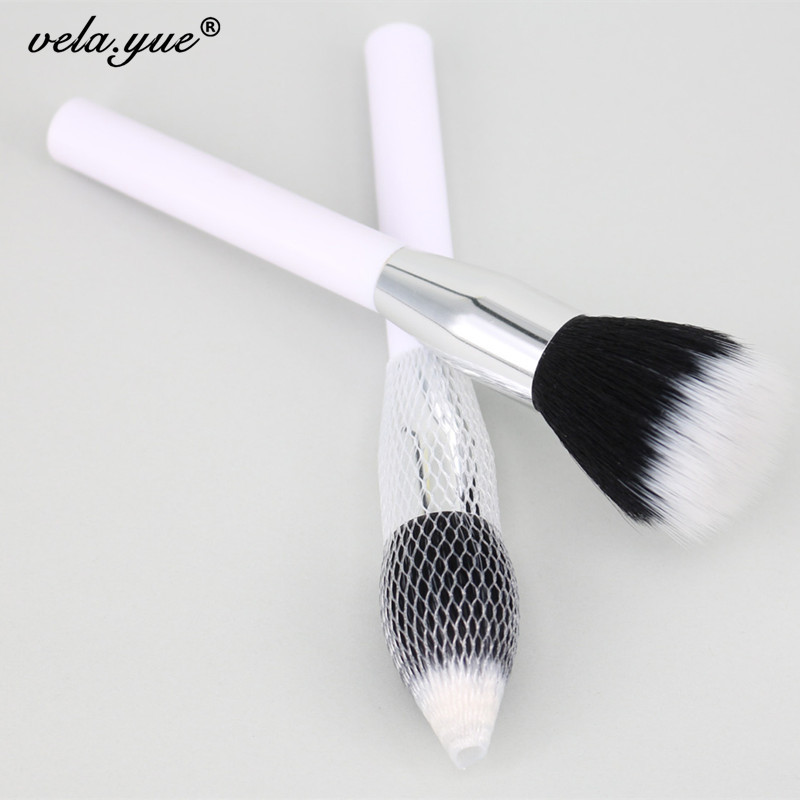Duo Fibre Face Stipple Brush Multipurpose Makeup Brush For Foundation Powder Blusher
