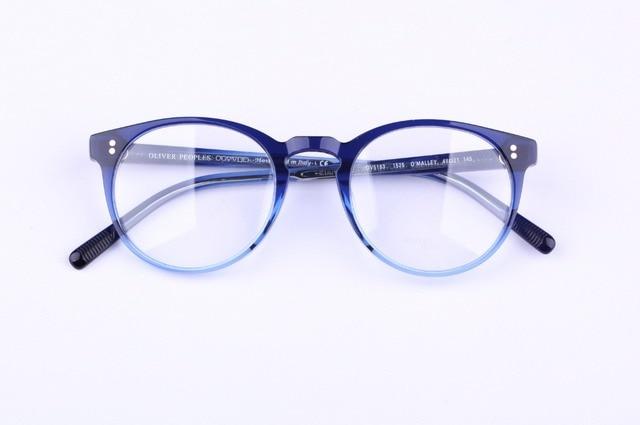 101f19fb527 Vintage optical eyeglass oliver peoples OV 5183 O  malley Vintage Myopia  Glasses Frame Men and Women eyewear frames