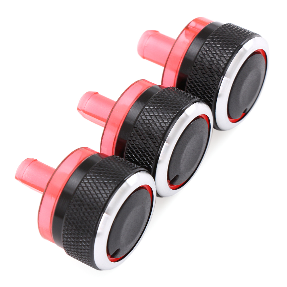 Image 5 - Switch Knobs Heater Climate Control Buttons Dials Heat Frame Ring Air Con Cover For Peugeot 206 207 For Citroen C2-in Car Stickers from Automobiles & Motorcycles