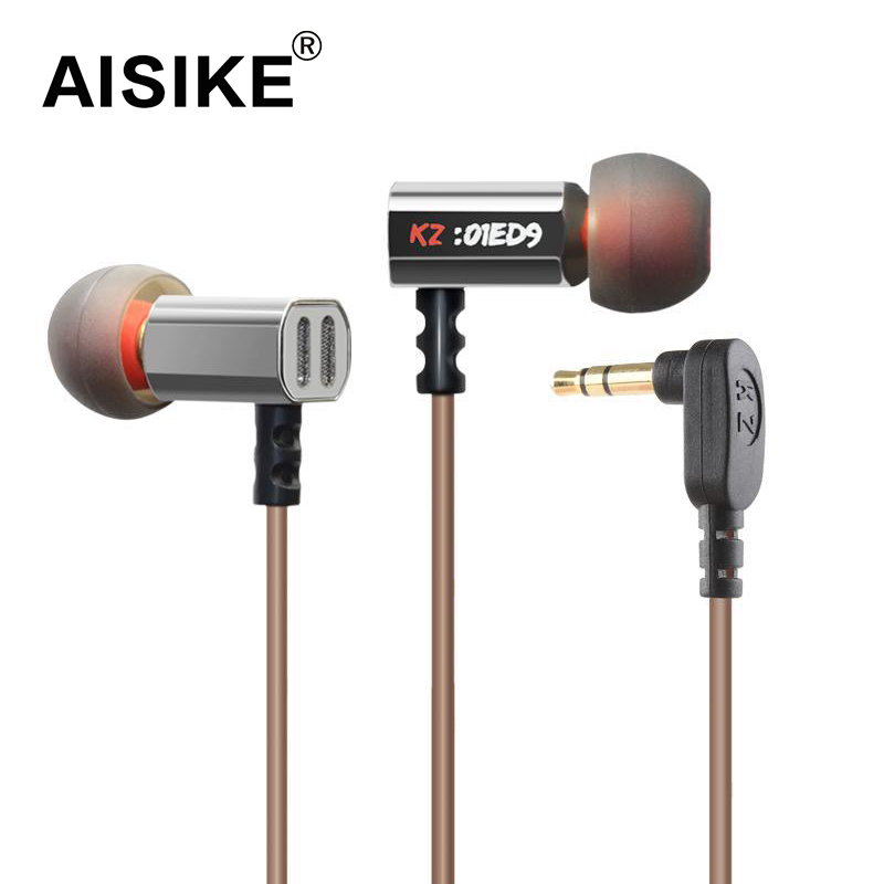 Original KZ ED9 Super In Ear Music Earphone With dj HIFI Stereo Earbuds Noise Isolating Sport Earphones Headset new original kz ate in ear earphones hifi metal stereo earbuds super dj bass noise isolating headset 3 5mm drive unit earbuds