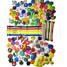 10 pcs multicolor Apple dolls tennis shock absorber To reduce tennis racquet vibration Dampener  все цены