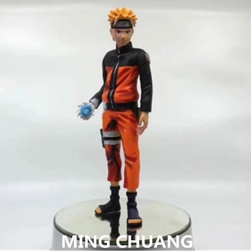 Naruto Sasuke VS Uzumaki Naruto Figure Rasengan Ver Model Toy Decor Gift In Box