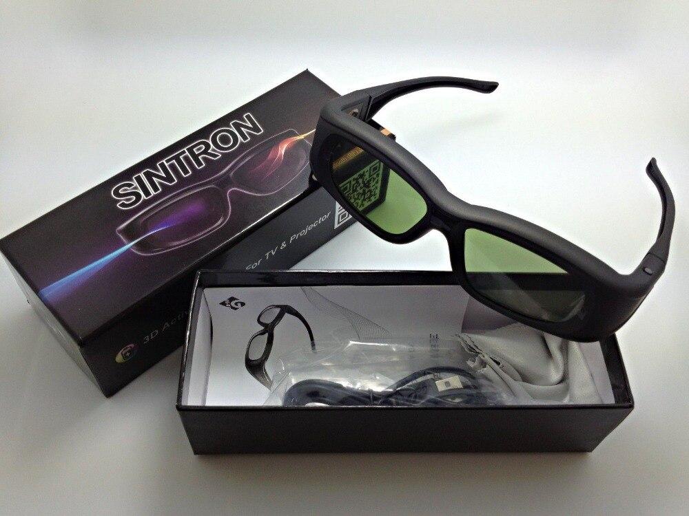 [Sintron] 3D Active glasses for 2013 Panasonic TV TC-L65ZT60 TC-P50ST60 TC-P50ST60 TC-P50VT60 TC-P55VT60 TC-P60VT60 TC-P65ST60