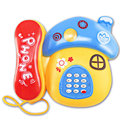 Электронная Игрушка Телефон Мультфильм Грибы Мобильный Телефон Обучения Музыкальные и Звуковые Телефон Игрушка для Детей Случайный Цвет