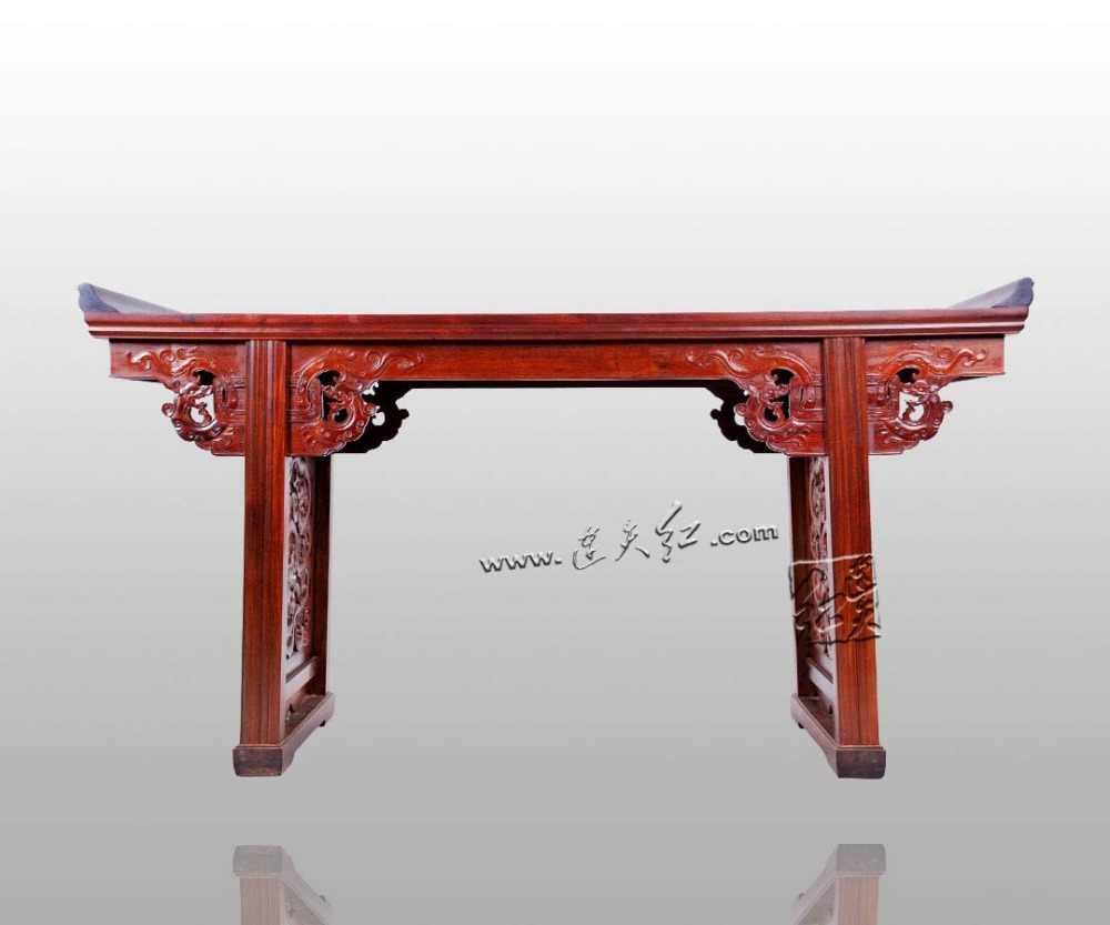 Smok ziarna głowy biurko birma palisander prostokąt stół biurowy chiński klasyczny antyczny komercyjne meble szkicownik do malowania przypadku