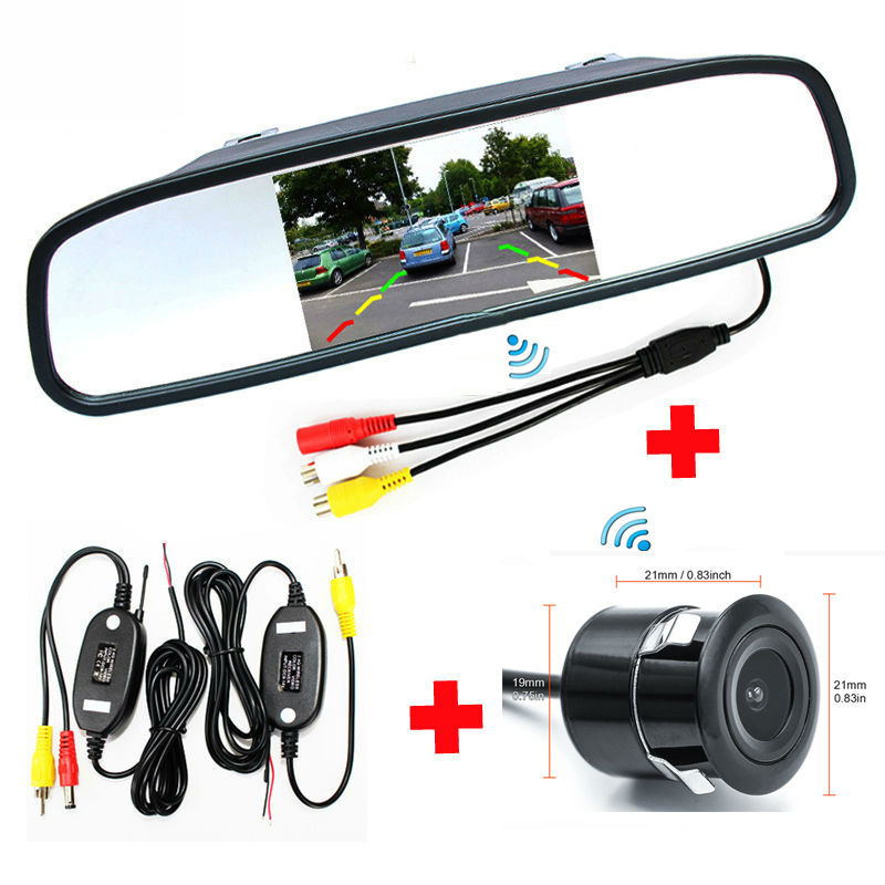 car parking rearview tft lcd mirror video monitor with. Black Bedroom Furniture Sets. Home Design Ideas