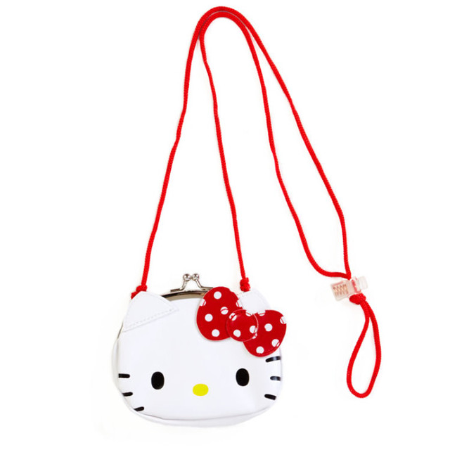 8626e4f33cc2 Cute Cartoon Hello Kitty My Melody Mini Shoulder Messenger Bag Crossbody  Bags for Baby Girls Sling Bag Hasp Coin Purse Wallets