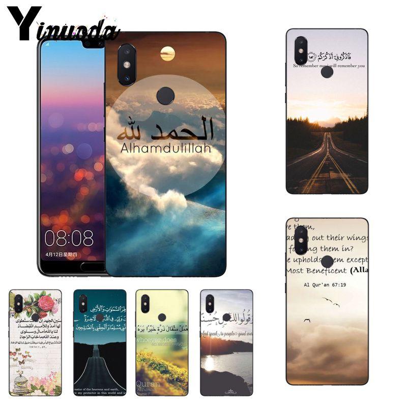 Phone Bags & Cases Maiyaca Arabic Quran Islamic Quotes Muslim Diy Phone Case For Xiaomi Mi 6 Mix2 Mix2s Note3 8 8se Redmi 5 5plus Note4 4x Note5