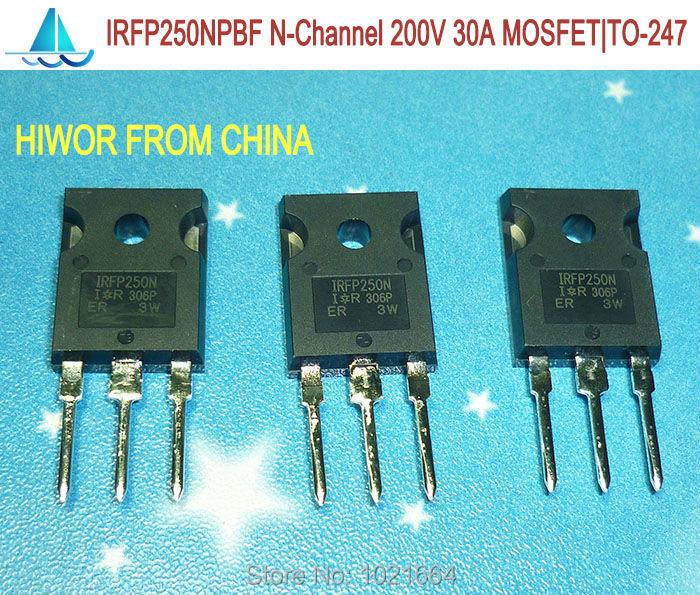 (10pcs/lot) Irfp250npbf Irfp250n Irfp250 N-channel Mosfet Field Effect Transistor 30a 200v Do-247