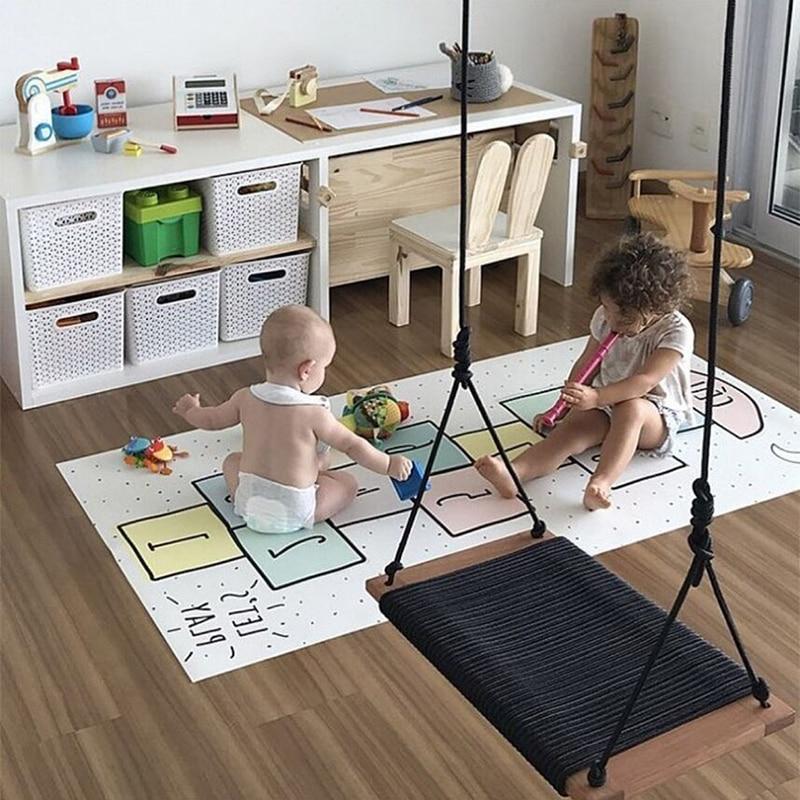 Nordique infantile bébé tapis tapis de jeu pour enfants Playmats plus épais et enfants développement tapis doux bébé tapis ramper plancher enfants tapis