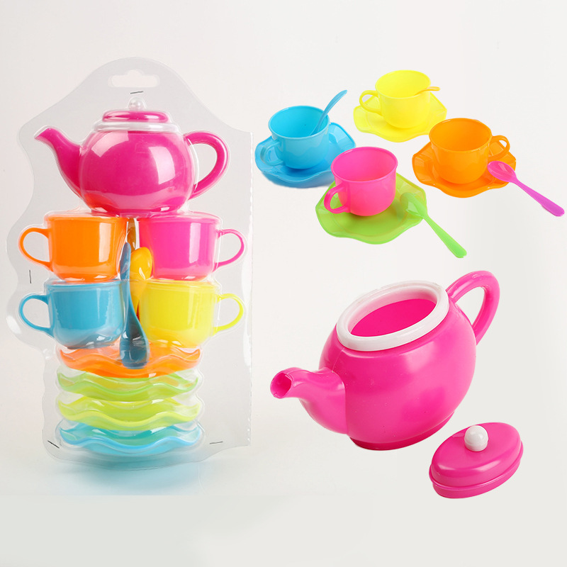 New Children's Play House Toys Children's Early Education Educational Toys Creative Cartoon Simulation Large Tea Sets