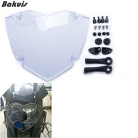 Transparent Headlight Cover Guard For B MW R1200GS GS LC Adventure 2013 Up Motorcycle Parts