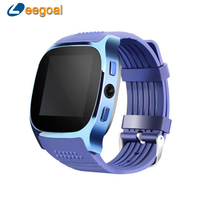 Leegoal T8 Bluetooth Smart Watch For Android Phone Smartwatch Men Women With Camera Facebook Whatsapp Support