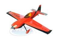 MXS R 20CC V2 Red Balsa Wood Germany Oracover 3D Aerobatic RC Airplane Model
