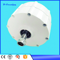 100W 600RPM 12V 24 VAC vertical wind turbine permanent magnet alternator coreless household DIY generator motor