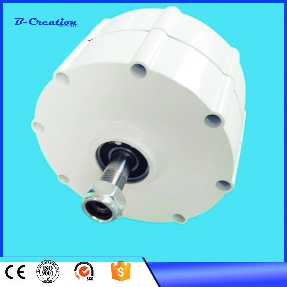 500W 600RPM 24 48 VAC vertical wind turbine permanent magnet alternator coreless household DIY generator motor