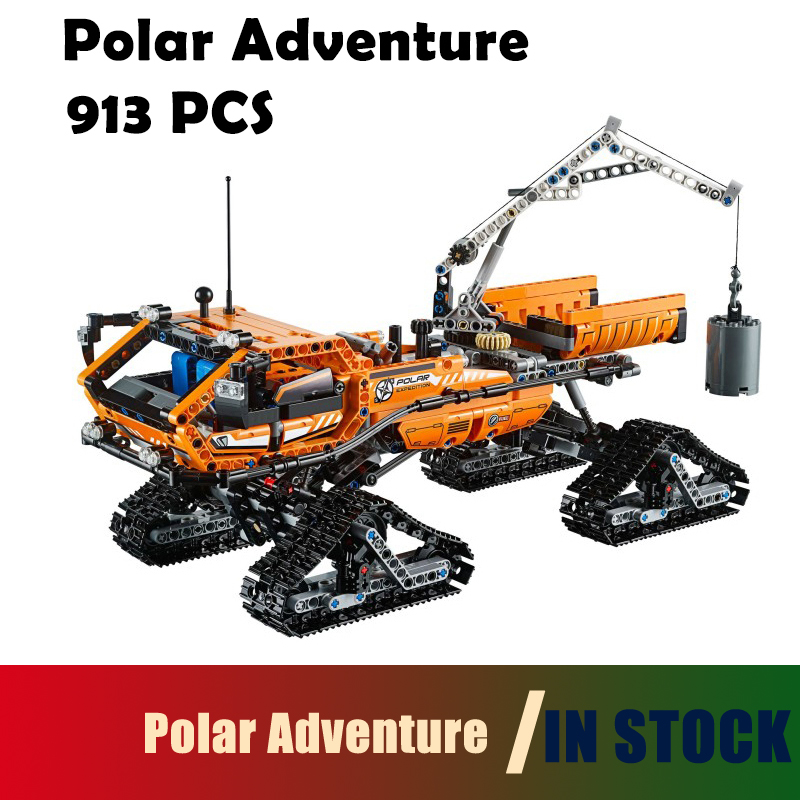 Polar Adventure Vehicle building blocks bricks toys for children Compatible with Lego Genuine Technic 42038 model 20012 913pcs compatible with lego technic creative lepin 24011 1344pcs 3 in 1 highway transport building blocks 6753 bricks toys for children