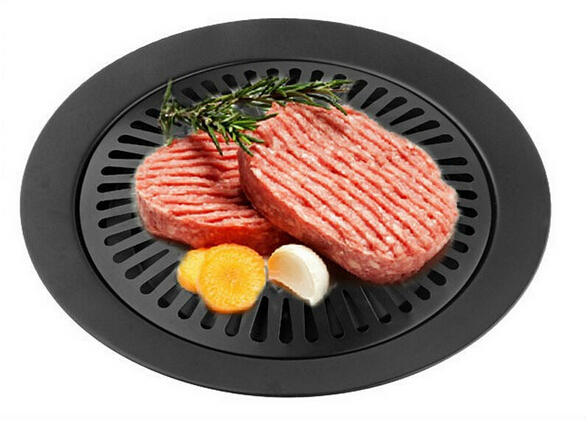 smokeless barbeque for household gas stove indoor black