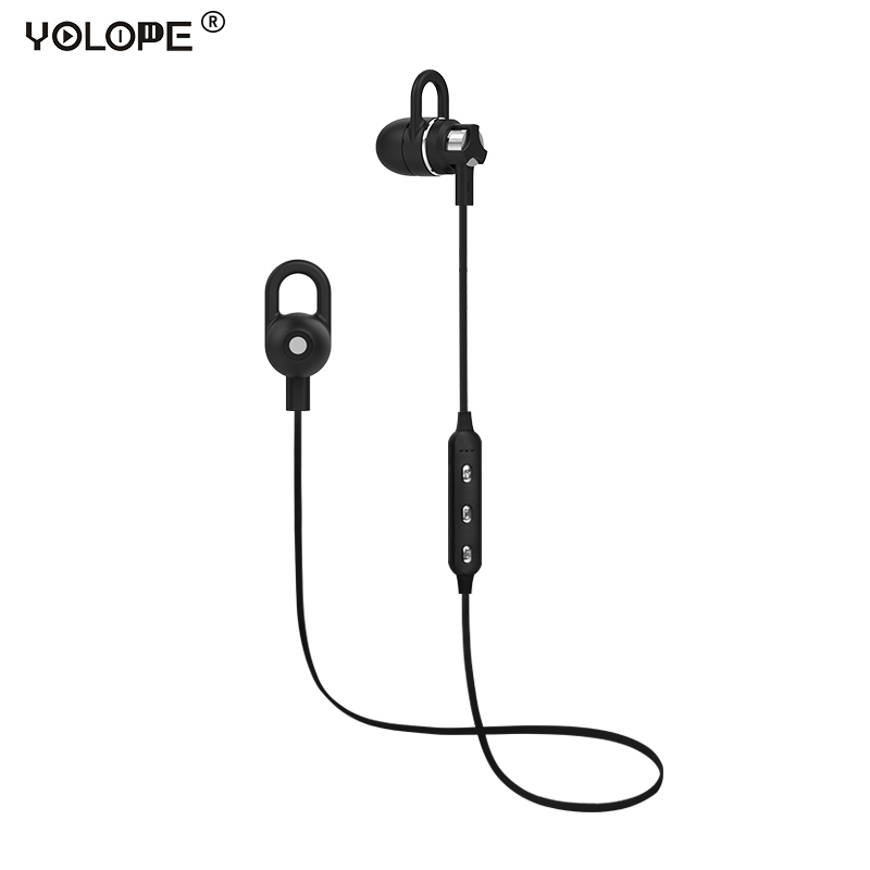 Yolope Mini Sport Earbuds Auriculares Headset Cordless Wireless Headphone Bluetooth Earphones For Phone iPhone In-ear Earpieces