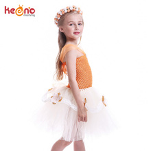 Moana Inspired Tutu Dress For Girls Birthday Party Handmade Kids Lace Flower Tulle Dress Girl Halloween Cosplay Fancy Costume недорго, оригинальная цена