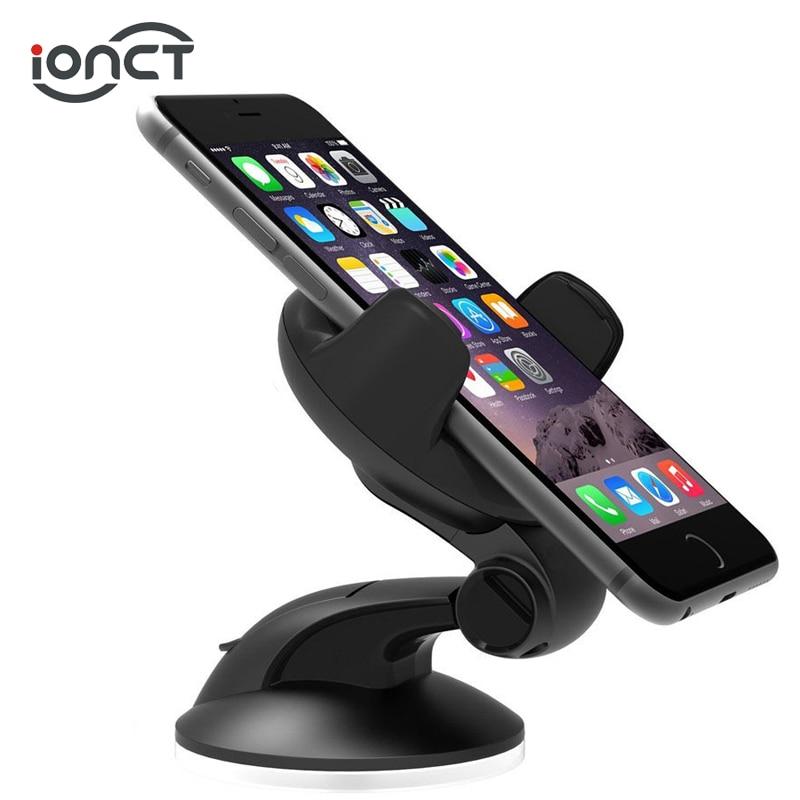 IONCT Support pour téléphone de voiture pour tableau de bord Support de montage de pare-brise Support pour téléphone Mobile universel Smartphone Support cellulaire téléphone cellulaire