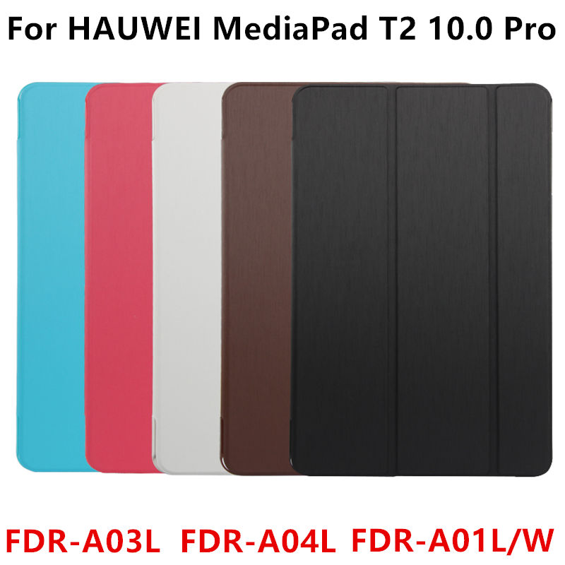 PU Leathe Cover Stand Case For Huawei Mediapad T2 Pro FDR-A01w/A03L 10 Tablet Cases Protective mediapad T2 10 Pro 10.1 Covers g case executive чехол для huawei mediapad t2 10 pro black