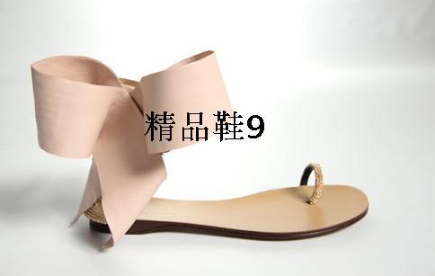 ba0fc6da8 Moda Calçados Femininos Preto Vermelho Bege Borboleta-Nó Mulheres Sandália  Sexy Sapatos de Praia Plana