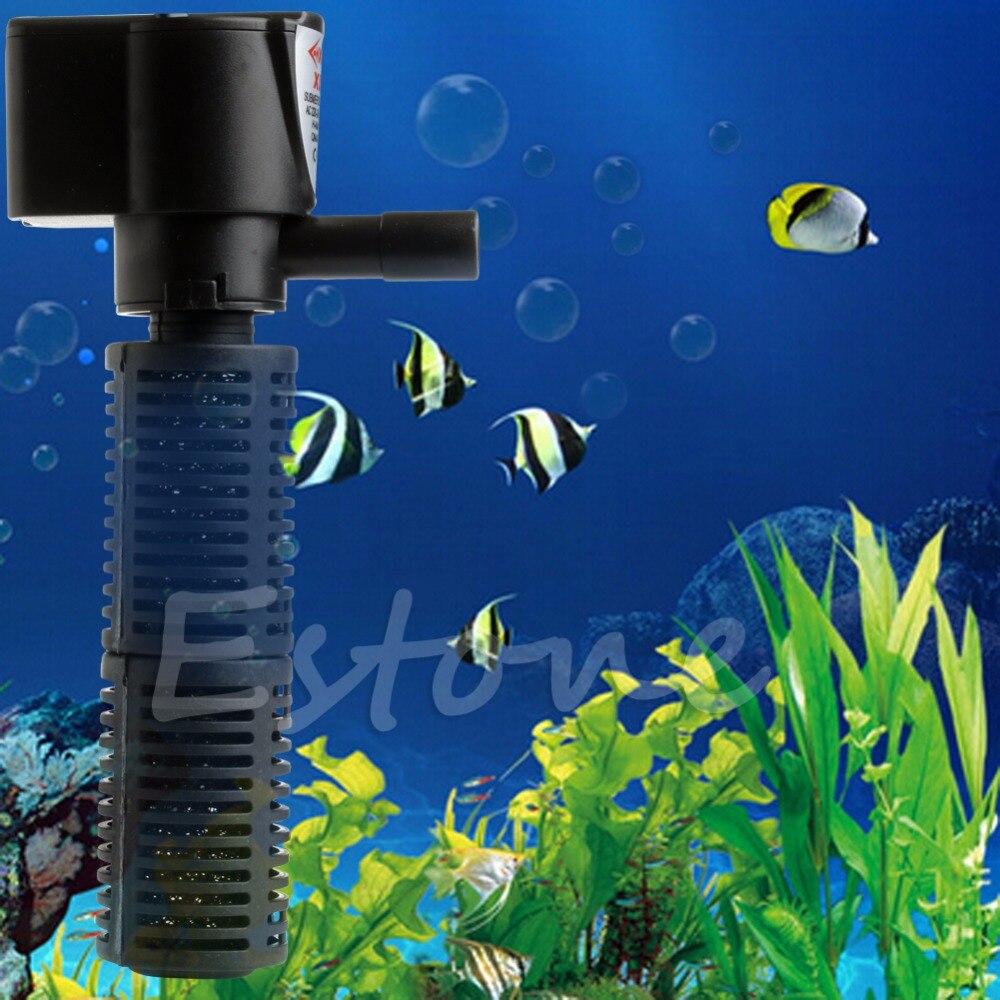 1000 l h aquarium fish tank powerhead jp 023 - Us Mini 3 In 1 Aquarium Internal Filter Fish Tank Submersible Pump Spray 5w China