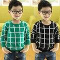 Детская одежда свитер рубашку Корейский мальчик детские детей свитер хеджирования 2017 новая весна A858