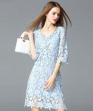 2016 летнее высококачественное платье трапециевидной формы с