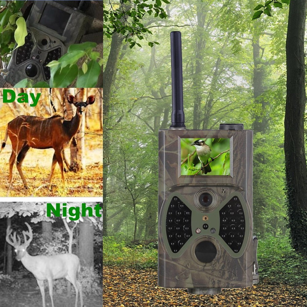 Sales Promotion 940NM scouting hunting camera HC-300M HD GPRS MMS Digital Infrared Trail Camera GSM night vision camera scouting hunting camera hc300m hd gprs mms digital 940nm infrared trail camera gsm 2 0 lcd hunter cam drop shipping