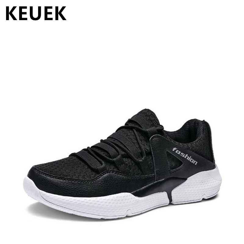 Fashion Men Sneakers Breathable Mesh cloth Casual shoes Lace-Up Flats Light Comfortable outdoor shoes 02A men shoes summer breathable lace up mesh casual shoes light comfort outdoor men flats cheap sale high quality krasovki