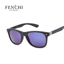 2017 FENCHI plastic hot ray sunglasses men women pilot Fashion Driving Mirrors Coating high quality