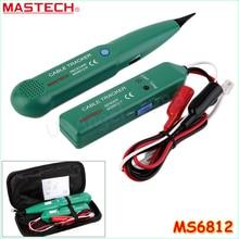 جهاز اختبار الخط الجديد للكابل وشبكة أسلاك الهاتف MASTECH MS6812