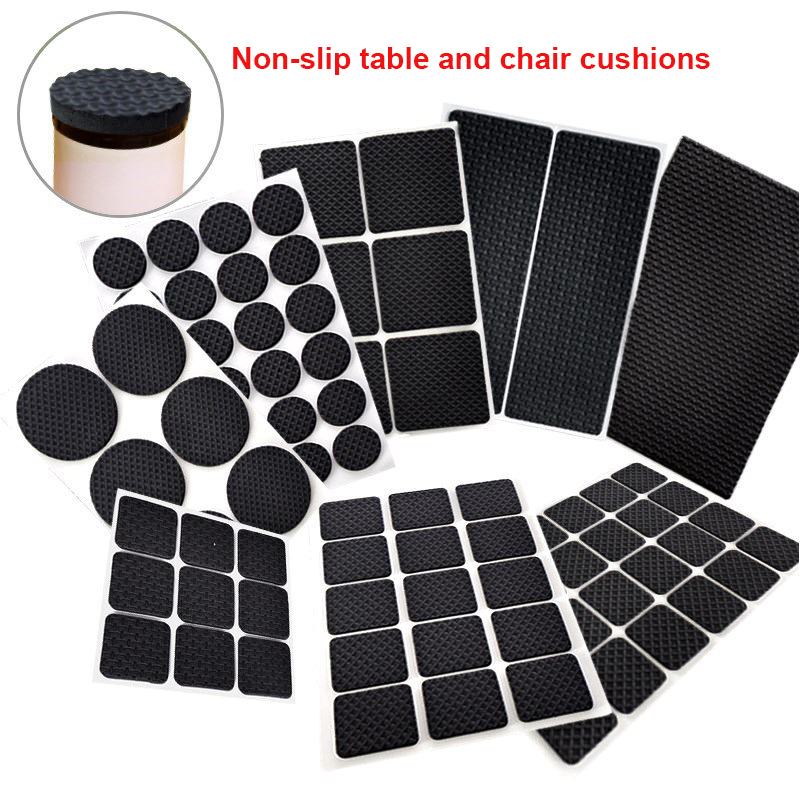 8Pcs/set Chair Leg Caps Chair Leg Protector Covers Furniture Table Leg Covers Round Bottom Circle For Round Rectangular Square