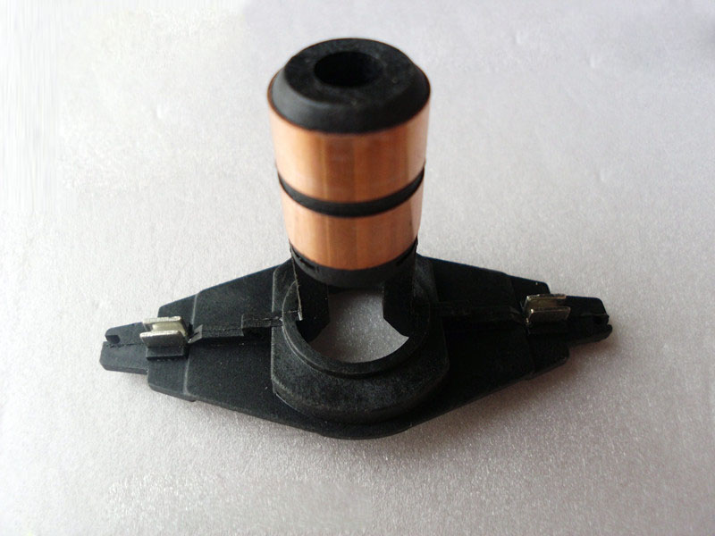 Comutador dos anéis deslizantes do alternador para a cabeça de cobre do dispositivo do coletor do gerador do regulador fiat (7*16*45mm)