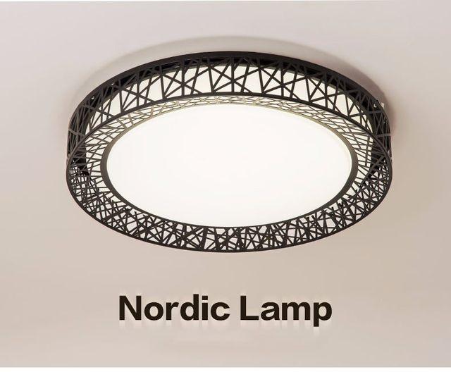 Plafoniere Industrial Style : Online shop birds nest ceiling light lamparas de techo plafoniere