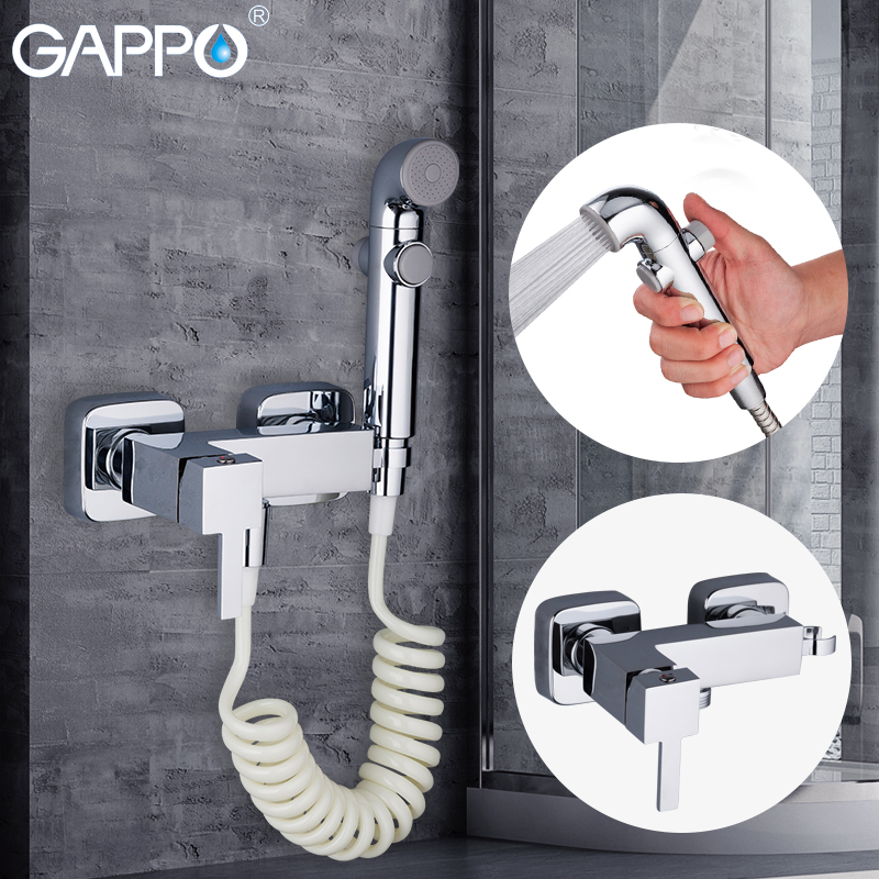 GAPPO Bidets mixer tap faucet toilet shower bidet handheld bidet spray muslim shower toilet wall mount ducha higienica gappo bidets bidet toilet sprayer muslim shower toilet water bidet tap mixer wall mount ducha higienica