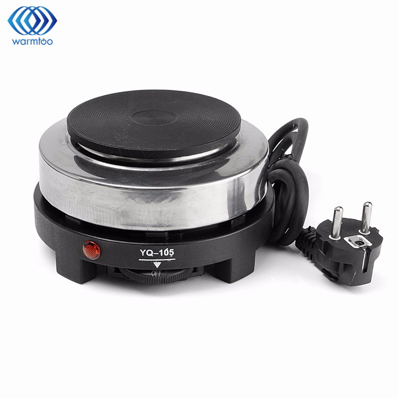 Mini Electric Stove Hot Plate Cooking Plate Multifunction Coffee Tea Heater Home Appliance Hot Plates for Kitchen 220V 500W stainless steel electric double ceramic stove hot plate heater multi cooking cooker appliances for kitchen 220 240v vde plug