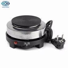 Mini elektrikli soba sıcak plaka pişirme tabağı çok fonksiyonlu kahve çay ısıtıcı ev aletleri ocaklar mutfak 220V 500W