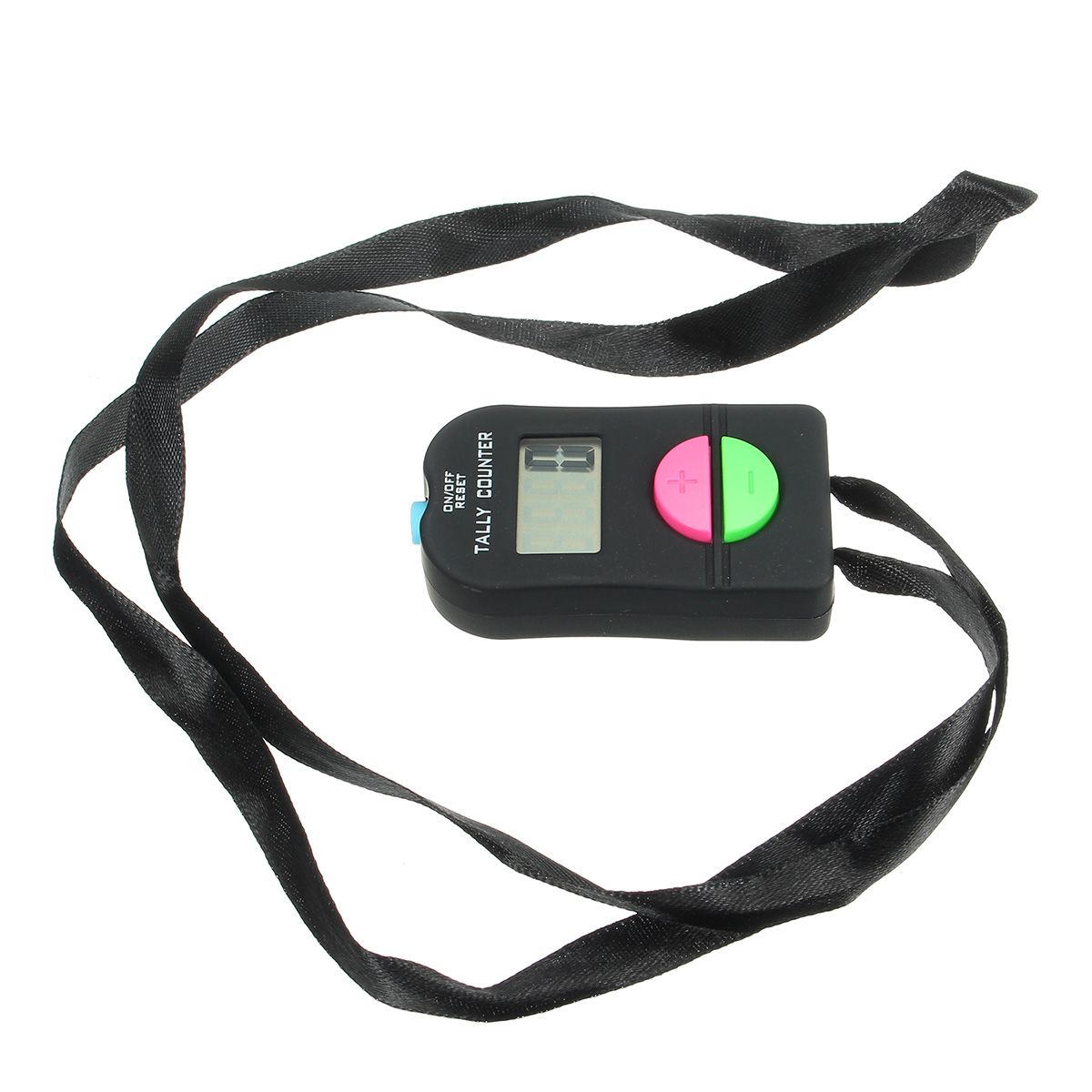 Digital LCD Electronic Finger Hand Manual Ring ON//OFF RESET Tally Counter